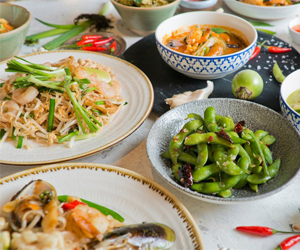 Win two meal vouchers for two people each at Busaba Eat Thai