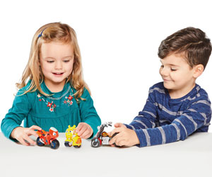Win a selection of awesome Ricky Zoom toys