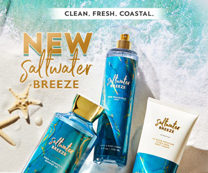 Win a gift hamper full of products from Bath & Body Works