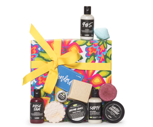 Win a LUSH gift package jam-packed with Dhs650 worth of LUSH goodies