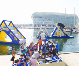 Win six of tickets to Wipeout WKND at Yas Marina
