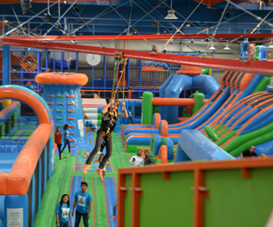 Win a family day pass at Air Maniax or Street Maniax