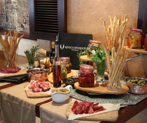 Win a Cheese & Antipasti night for two at Spaccanapoli at Crowne Plaza Abu Dhabi
