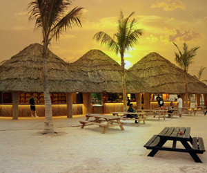 Win a beach barbecue for four at Barasti
