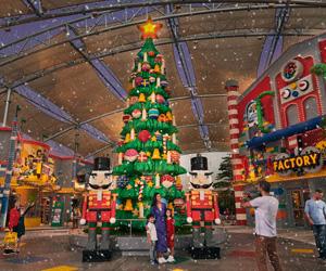 Win four tickets to LEGOLAND Dubai's Christmas Bricktacular