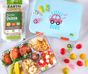 Win a Citron lunchbox with healthy produce from Earth Goods