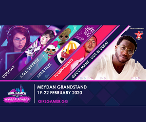 Win tickets to one of the biggest Esports Festival GIRLGAMER headlined by Gucci Mane