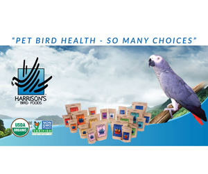 Win a nutrition and hand hygiene hamper for your feathered pets
