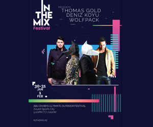 Win a pair of tickets to In The Mix festival in Abu Dhabi
