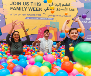 Win Dhs5,000 vouchers to spend at Marina Mall as part of Abu Dhabi Family Week