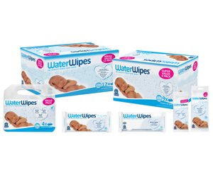 Win a month's supply of WaterWipes