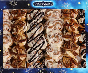 Win Dhs500 to spend at Cinnabon