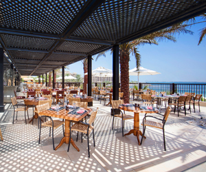 Win a brunch for two with beach and pool access at at DoubleTree by Hilton Resort & Spa Marjan Island