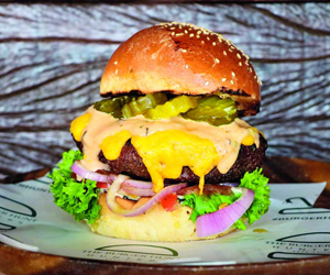 Win lunch for four at Hunters Room & Grill