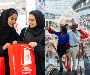 Win Dhs1,000 to spend in participating malls across Dubai during Dubai Shopping Festival