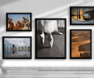 Win Dhs600 to spend on a printed and framed photo of your choice