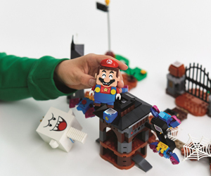 Win a LEGO Super Mario starter course set, expansion set and power-up pack