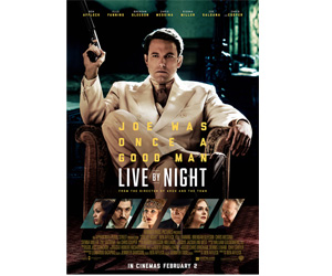 Win pair of tickets to the premier screening of Live by Night at Novo Cinemas, Seef Mall on January 31st