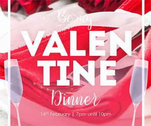 Be My Valentine Dinner