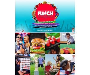 Win a table for four this Friday at Funch