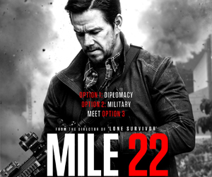 Win 2 passes to the premiere screening of MILE 22 in Bahrain